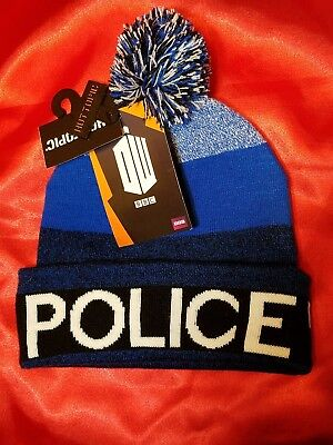 Tardis Jacket (NWT Doctor Who Tardis Knit Pom Stocking Hat Cap Beanie Hot)