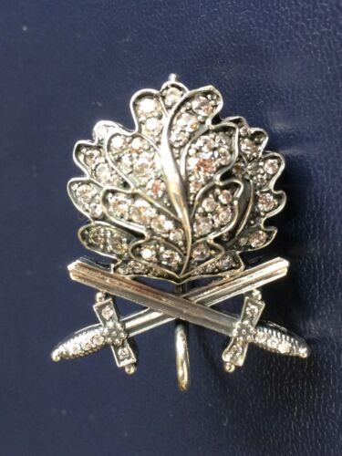 Godet Oak Leaves Sword Diamonds Knight