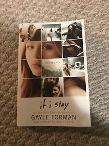 """Book """"If I stay"""" by Gayle Forman"""