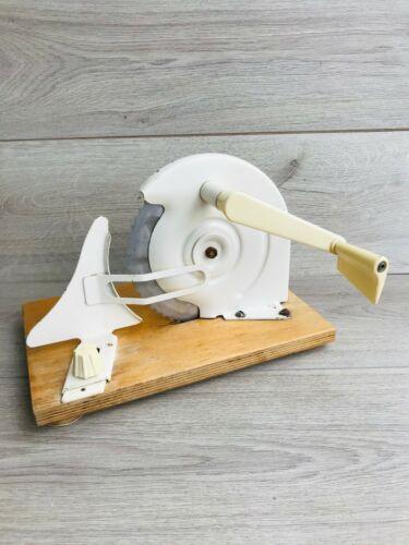 Vintage hand bread cutting machine Bread slicer Vintage hand-made slicing machin