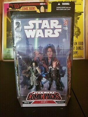 Star wars 30th anniversary Comic pack #05 Quinlan Vos And Vilmarh Grahrk.
