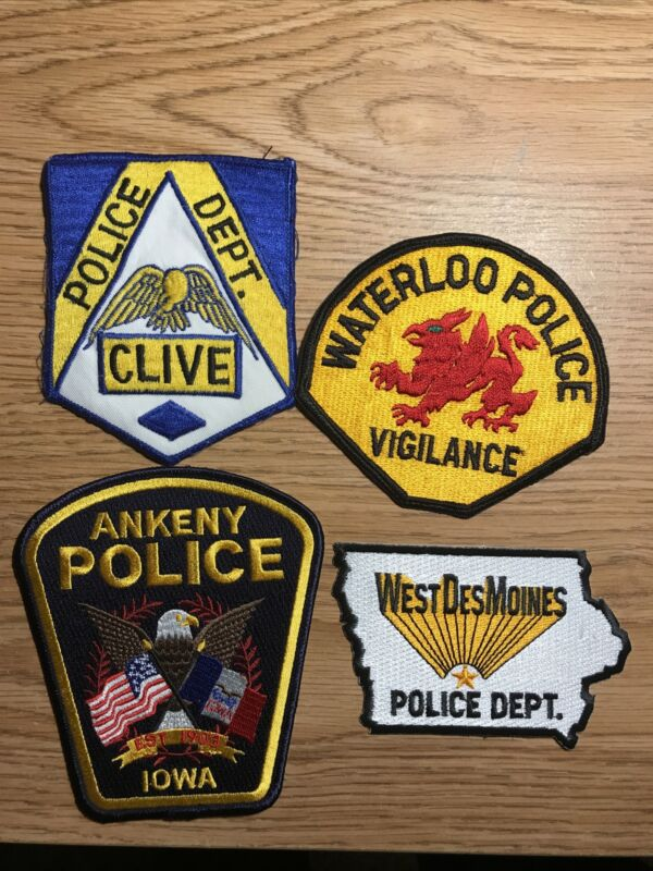 iowa police patches