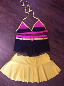 NWT 3 PC swim suit