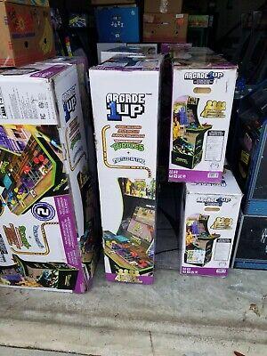 Teenage Mutant Ninja Turtles Arcade Machine w/Riser,Arcade1UP, Local Pickup Only