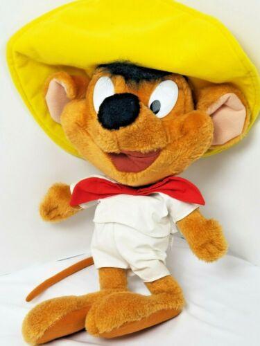 "Warner Brothers Looney Tunes 19"" Speedy Gonzales Vintage Stuffed Plush Toy"