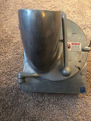 Commercial Hobart Nsf Pelican Head W Stainless Blade Attachment 12 Cheese Grate