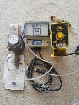 Steam Boiler Chemical Injection System Meter Pump And Control