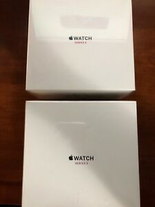 Brand New- Apple Watch Series 3- 42mm Stainless (GPS+Cellular)
