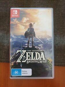 Zelda Breath Wild Nintendo Switch Game