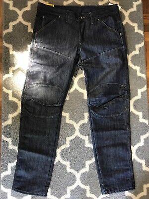 ( NEW ) G star raw Denim Jeans 30 X 30 Style: 5630 BK 3D LW T Tapered Fit