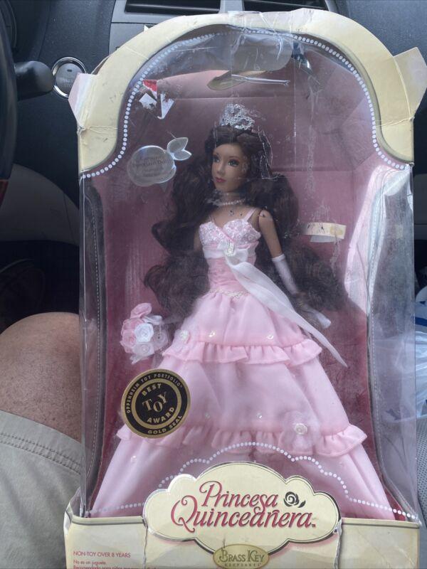 2007, Vintage Rare, Porcelain Doll, Princess Quinceanera, The Brass Key
