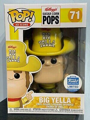 Funko Pop AD Icons - BIG YELLA 71 - Kellogg's Sugar Corn Pops - Funko Shop [4]