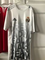 Real Madrid Pre Game Jersey Authentic