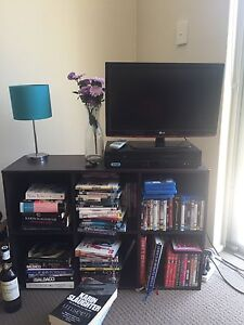 Bookcase & small tv Chatswood Willoughby Area Preview