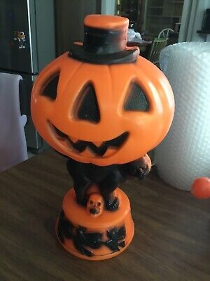 vintage 1960's table top Halloween blow mold