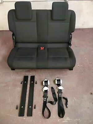 Vw caddy maxi  life  3 row   Seat, Belts x 2 and floor brackets x 2