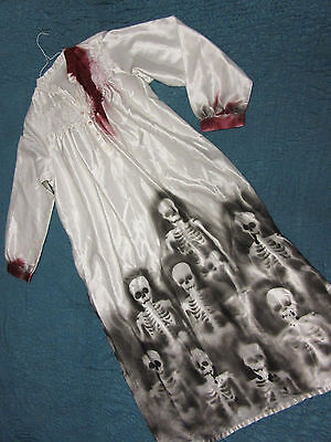 Zombie Vampire Day of the Dead corpse bride nightgown COSTUME Halloween OOAK](Zombie Vampire Costumes)