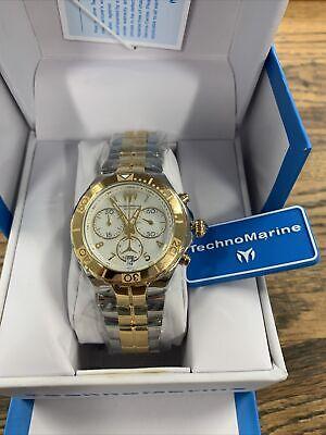 TechnoMarine Pearl Sea Collection Chronograph TM-715001 Women's Watch