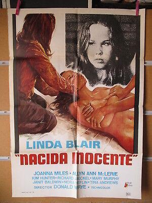 A5150  NACIDA INOCENTE - LINDA BLAIR, JOANNA MILES, ALLYN ANN MCLERIE
