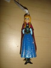 Disney Frozen Christmas ornament glitter resin Anna of ...