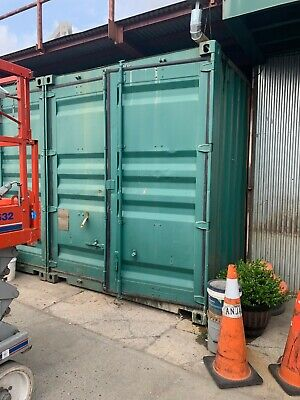2 Fab Freight Containers - Modified Into A Workshopstorage Wlights Electric