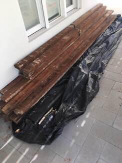 Jarrah recycled floor beams - great condition