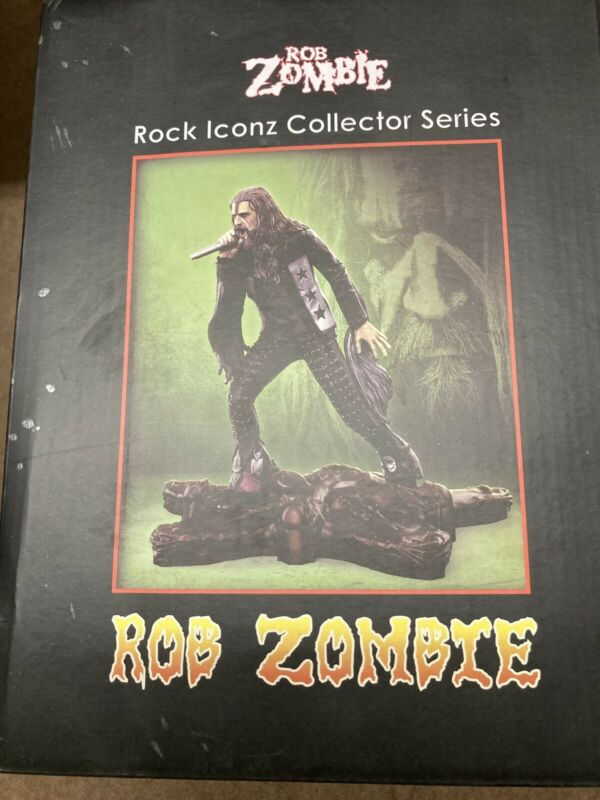 Rob Zombie Rock Iconz Statue By KnuckleBonz