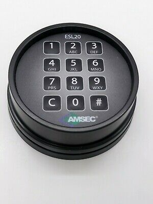 Amsec Esl20xl Black Keypad - For Parts Not Working