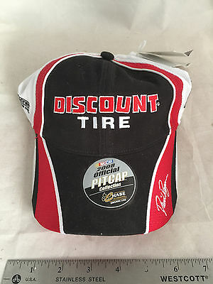 New David Ragan  6 Discount Tire 2008 Official Pitcap Chase Authentics Signature