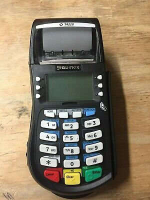 Equinox T4220 Credit Card Terminal W Power Cord