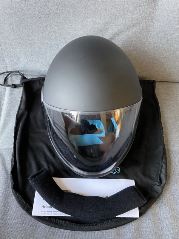 Matte Black Cookie G3 Helmet (Large) - Never Used