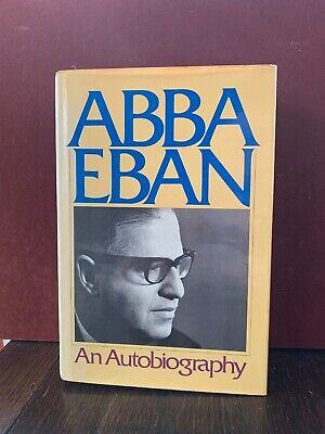 Abba Eban An Autobiography 1977 HCDJ