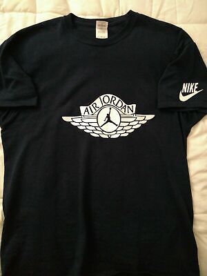 1 Of A Kind Custom Jordan Nike Jump Man Glow In The Dark T-Shirt New.S-3XL