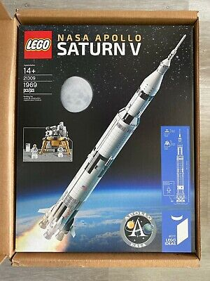 LEGO 21309 Ideas NASA Apollo Saturn V Rocket NEW