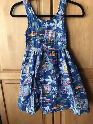 Girls Disney Hawaiian Dress Disney Store Size Medium (Girls Dress Store)