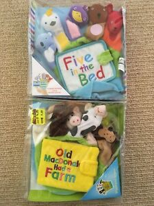 Hand puppet books