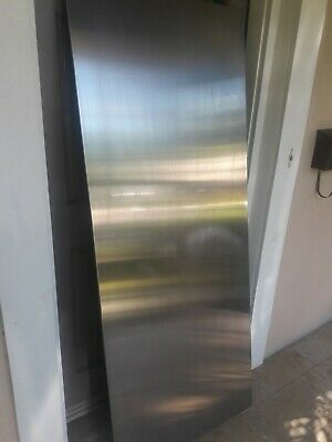 GE REFRIGERATOR STAINLESS STEEL SIDE PANEL WR99X10039