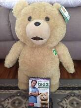 Talking Ted Bear + Ted 2 DVD Greenfield Park Fairfield Area Preview
