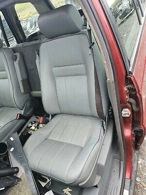Range Rover p38 leather seats manual