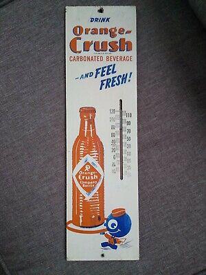 Vintage rare orange crush thermometer