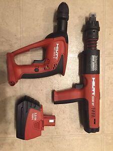Hilti DX 351 BT and XBT 4000-A Drill Set