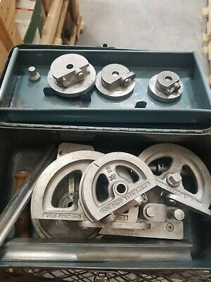 600-f Worm Gear Tube Bender 5120-00-595-8190 Tool Kit Aviation