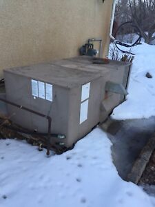 Roof top type furnace& air conditioner