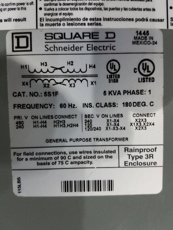 Square D Transformer