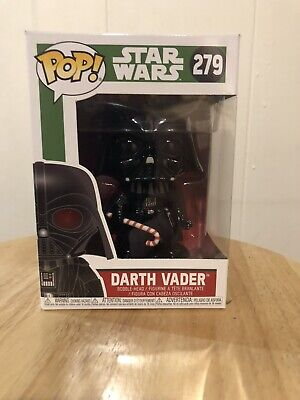 FUNKO POP! STAR WARS HOLIDAY CHRISTMAS #279 DARTH VADER CANDY CANE DISNEY
