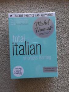TOTAL ITALIAN EFFORTLESS LEARNING BEGINNER TO INTERMEDIATE NEW