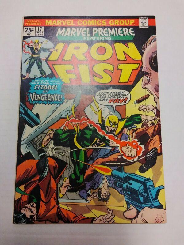 Marvel Premier # 17
