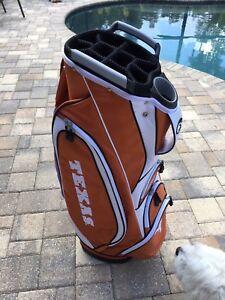 Team Golf Texas Longhorns Victory Cart Golf Bag Retail Store Return