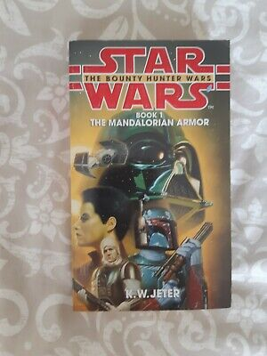 Star Wars Book 1: The Mandalorian Armour The Bounty Hunter Wars Paperback