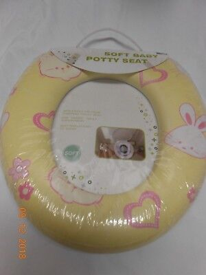Great Travel Potty - New soft Baby toddler Potty Seat unisex yellow great for campers or travel Kids